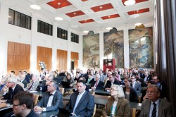 The event was organized at Aalto University. Photo: Aalto/Aino Huovio