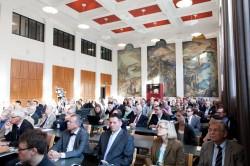 Tilaisuus pidettiin Aalto-yliopiston tiloissa. Kuva: Aalto/Aino Huovio